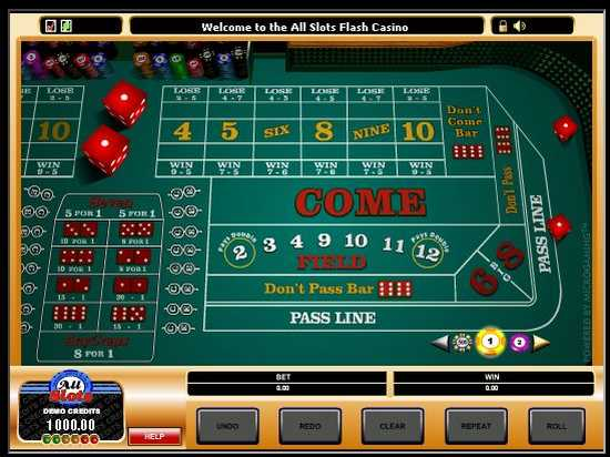 best online craps casino games onl